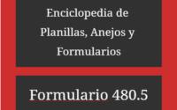 ¿Qué es el Formulario 480.5? 2