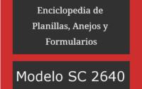 Modelo SC 2640: Elección para Corporación de Individuos 2
